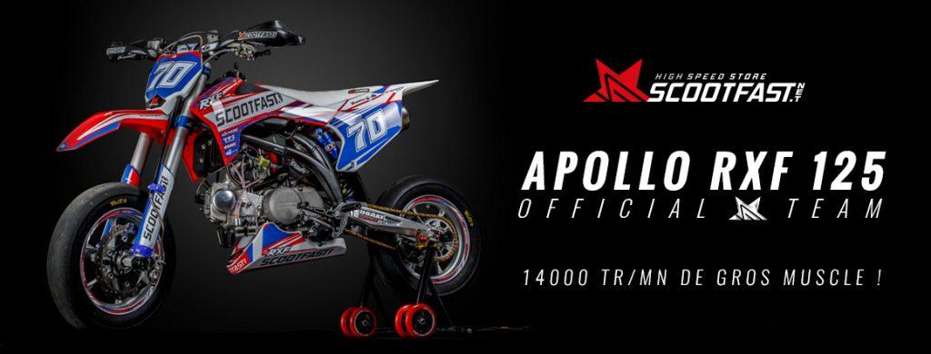 Présentation du pit bike motard Apollo 125 RXF ScootFast 2020